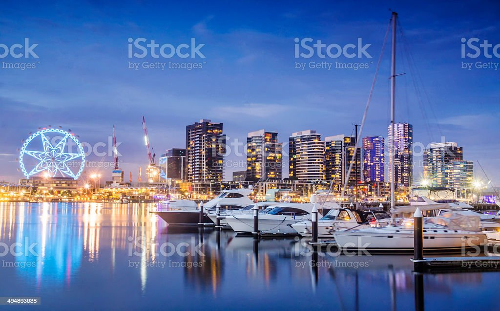 Docklands, Melbourne stock photo
