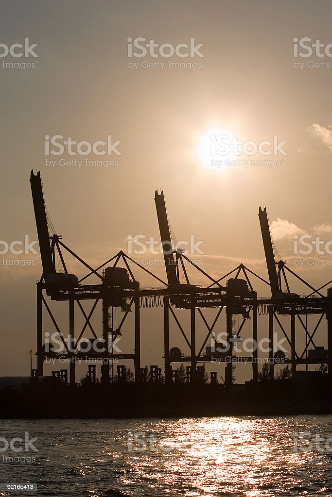 Docks royalty-free stock photo