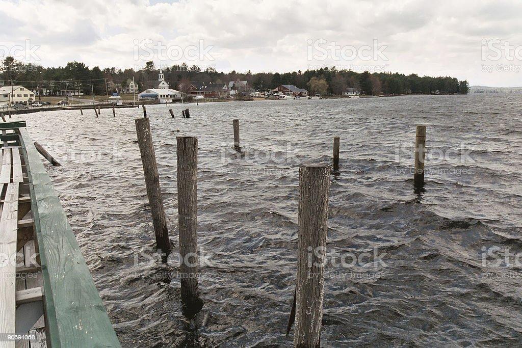 Dockside royalty-free stock photo