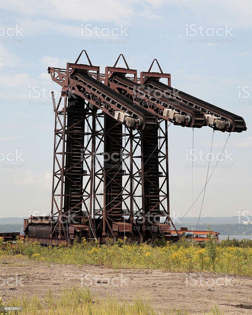Dockyard Equipment royalty-free stock photo