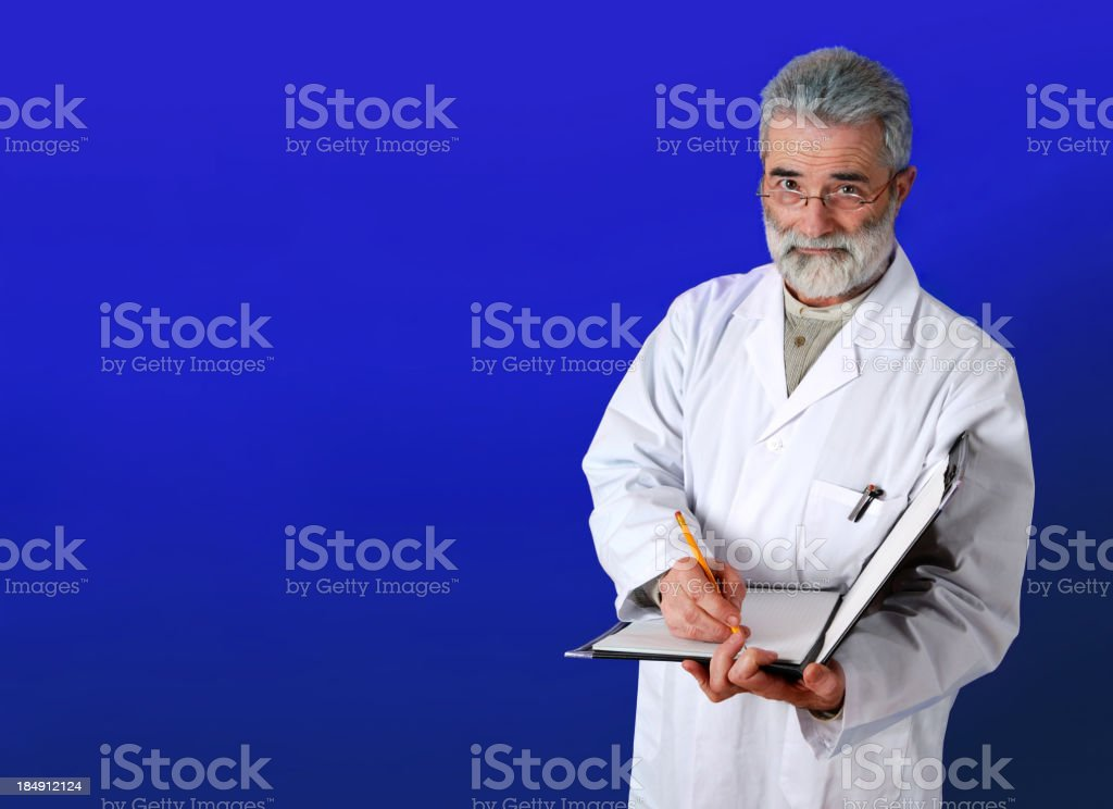 Doctor 2.3 Blue royalty-free stock photo