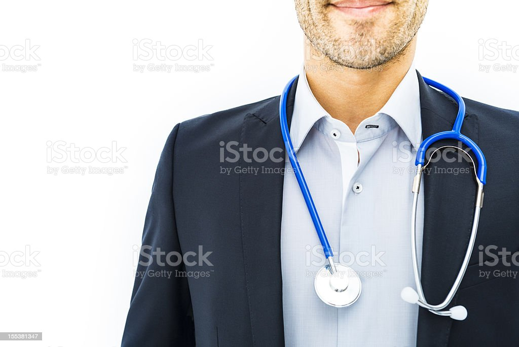 Doctor 24 hours stock photo