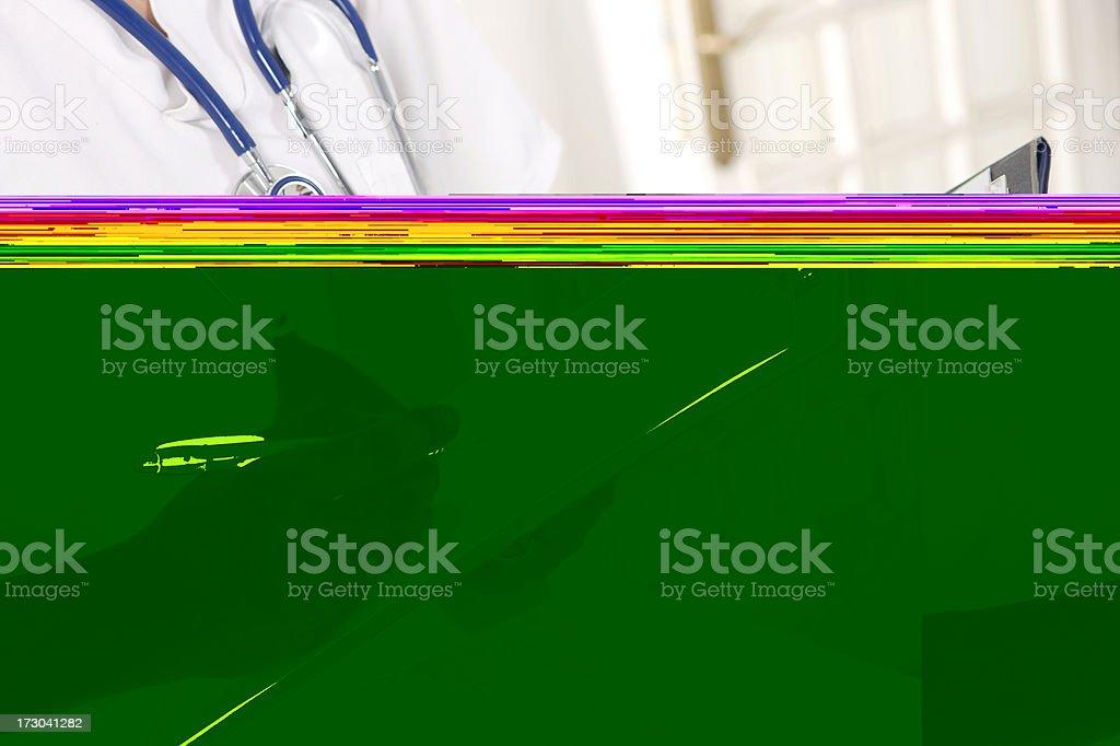 doctor analysing xxlarge stock photo