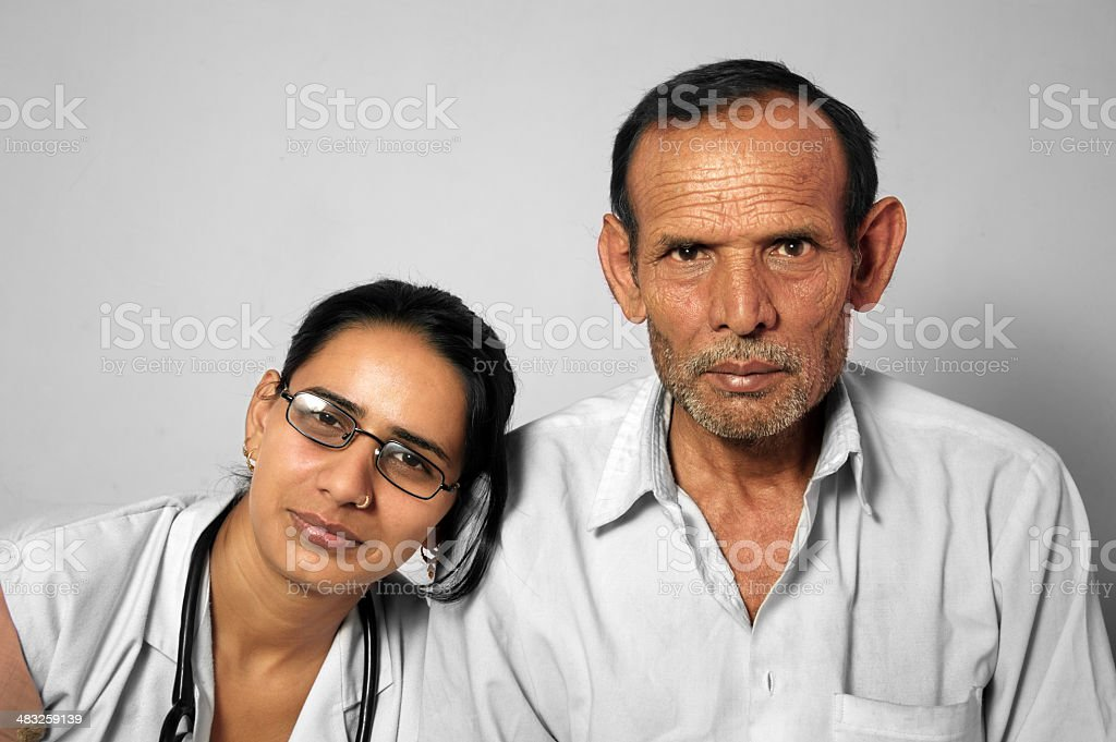 Doctor and Father royalty-free stock photo