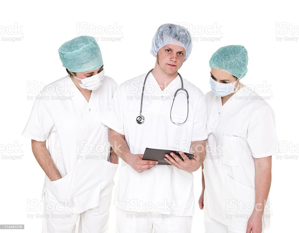 Doctor and Nurses stock photo