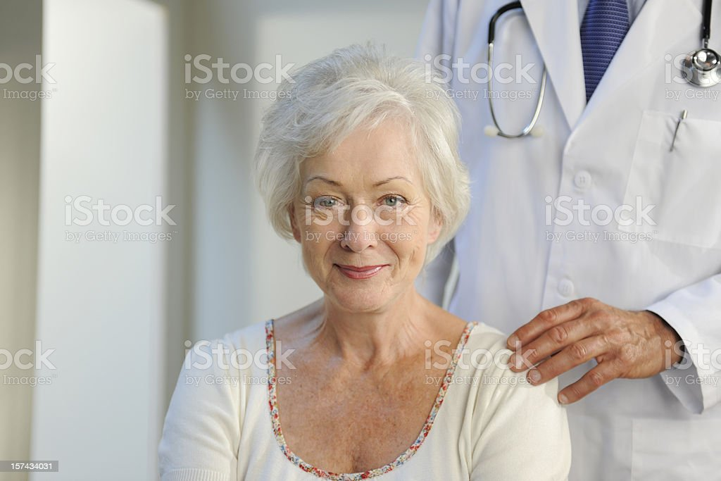 doctor and patient royalty-free stock photo