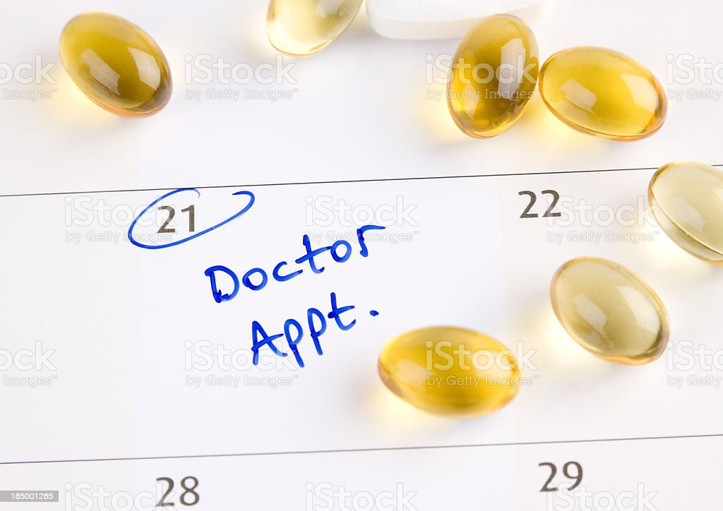 Doctor appointment royalty-free stock photo