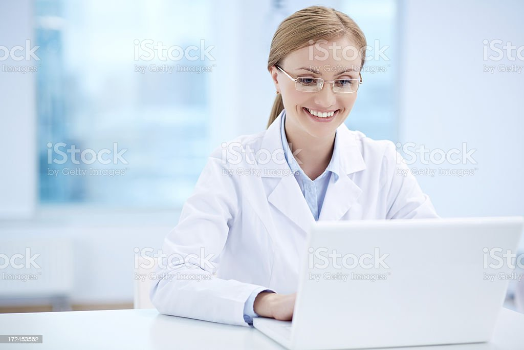 Doctor at work royalty-free stock photo