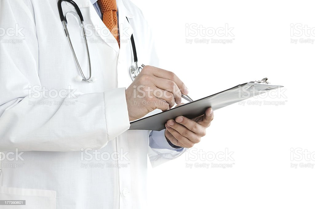 Doctor at work stock photo