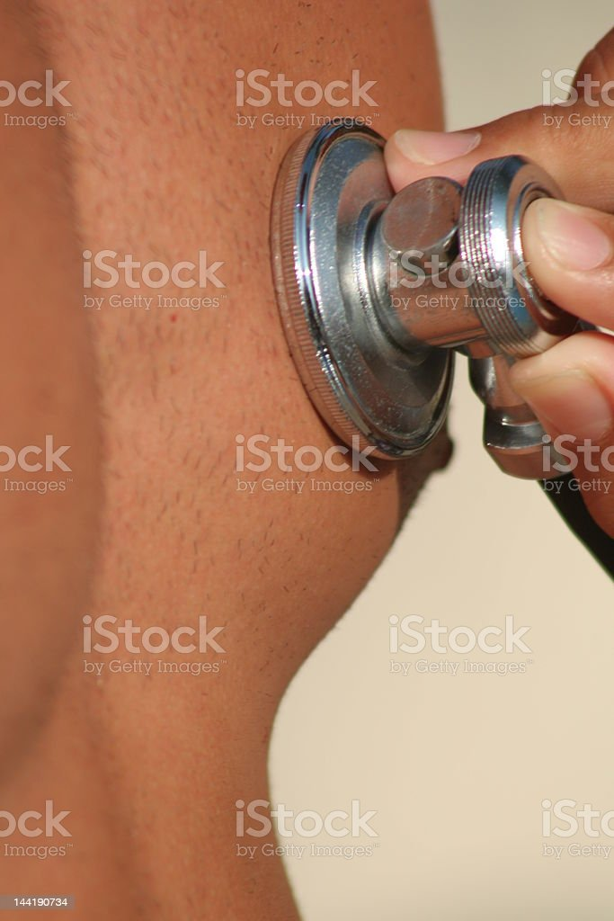 Doctor Check Up royalty-free stock photo