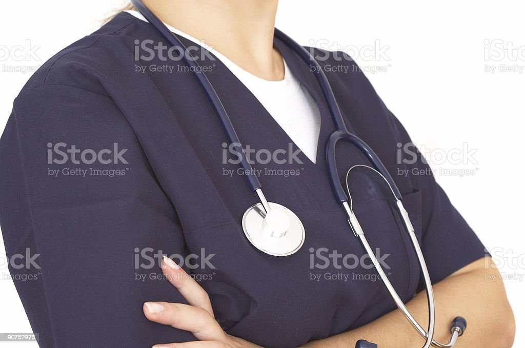doctor close up royalty-free stock photo