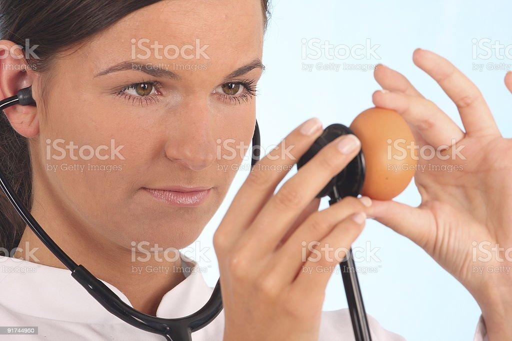 doctor examine royalty-free stock photo