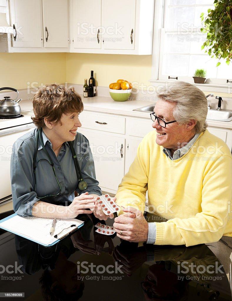 Doctor Explaining Medication royalty-free stock photo