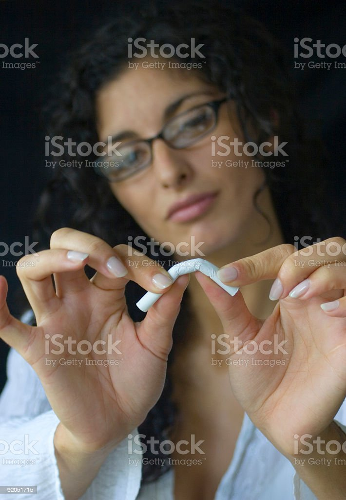 Doctor giving a good advice. stock photo