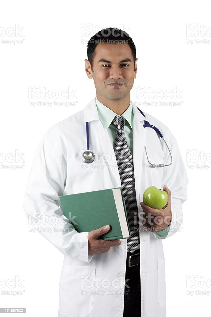 Doctor Green royalty-free stock photo