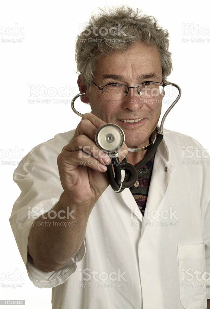 Doctor - Health Check 01 royalty-free stock photo