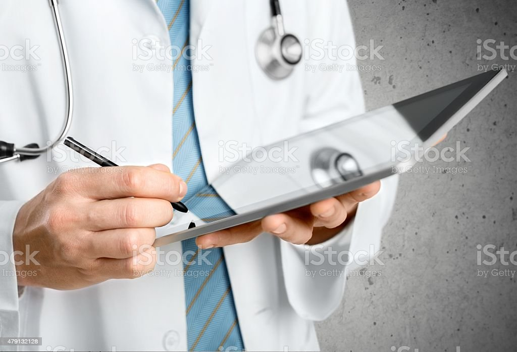 Doctor, Healthcare And Medicine, Note Pad stock photo