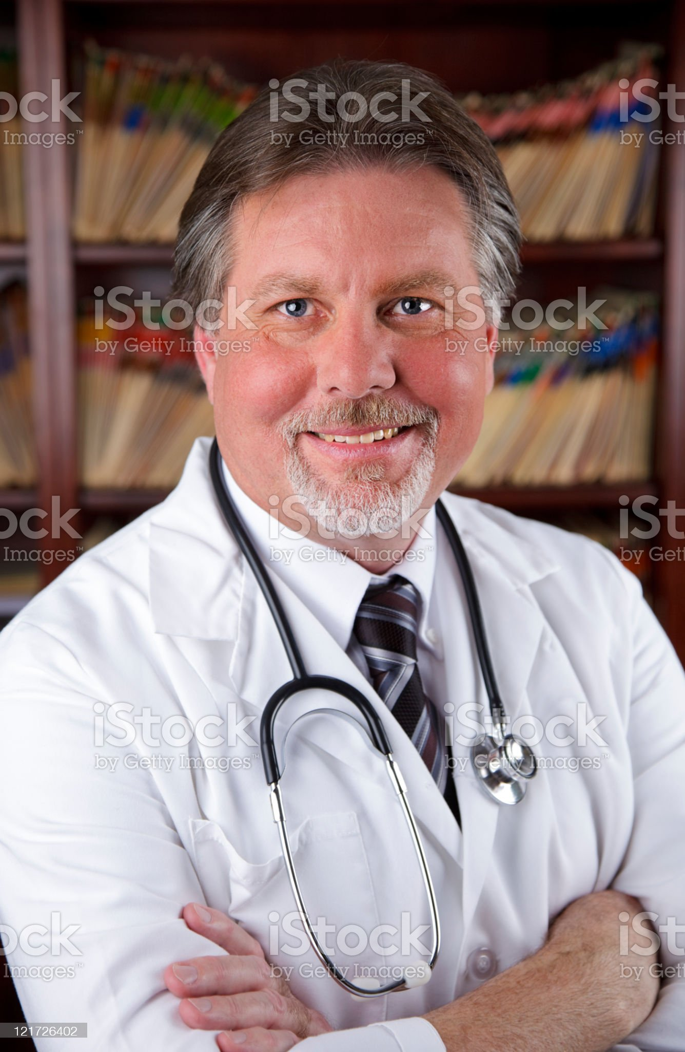 Doctor in Office royalty-free stock photo