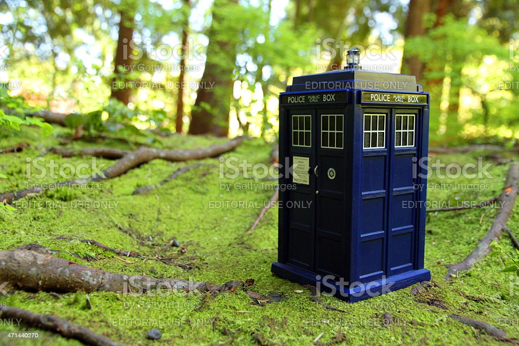 Doctor In the Woods stock photo