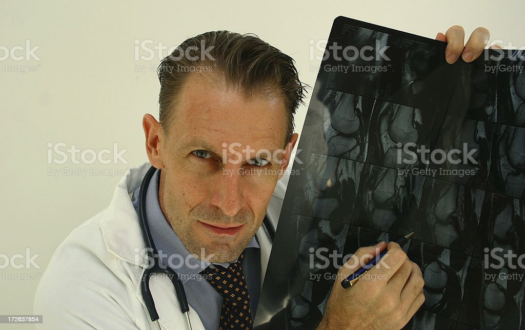 doctor knows best stock photo