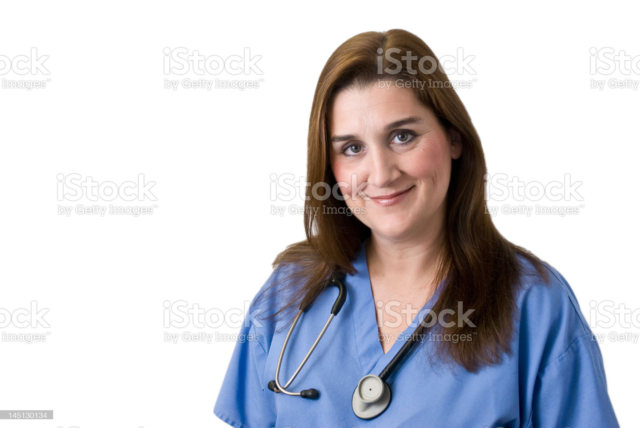 Doctor nurse healthcare medical professional white background royalty-free stock photo