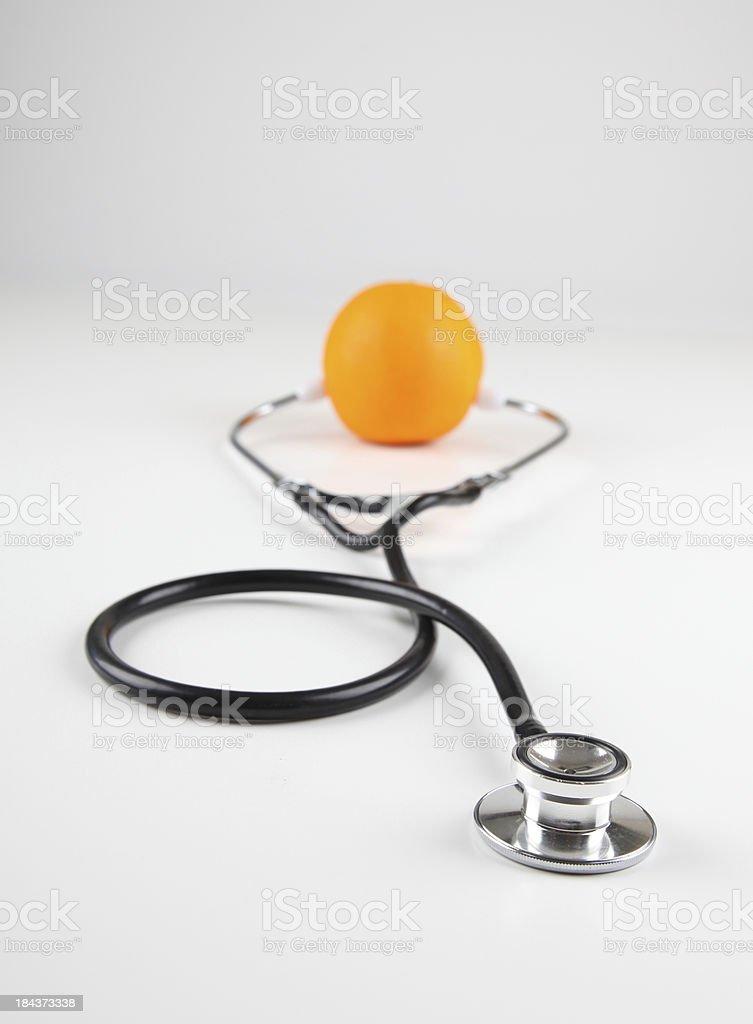 Doctor Orange royalty-free stock photo