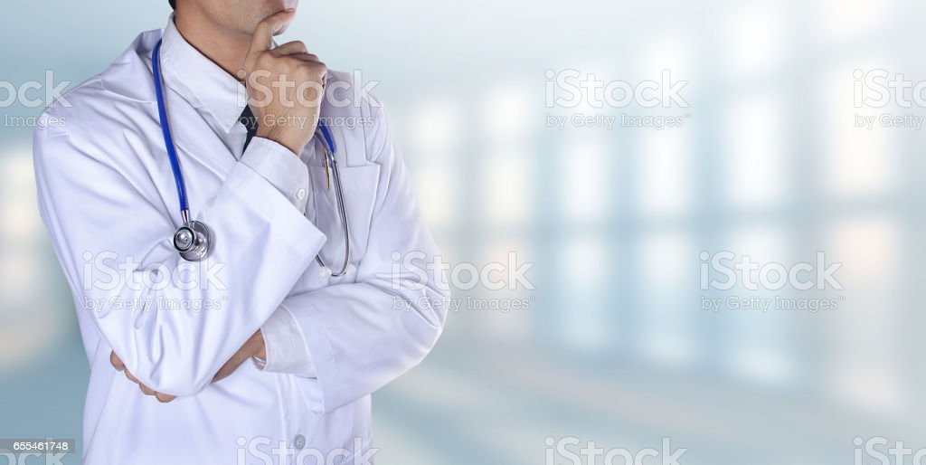 Doctor, patient, medical. stock photo