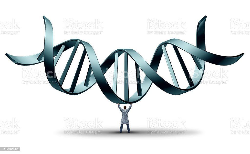 DNA Doctor stock photo
