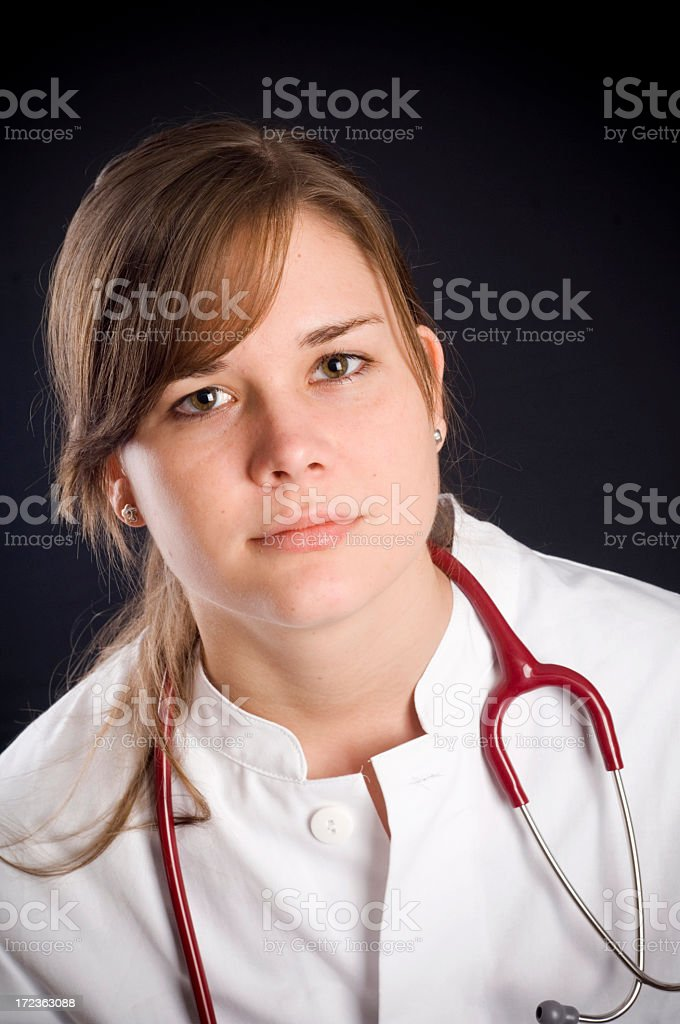 Doctor portraits royalty-free stock photo
