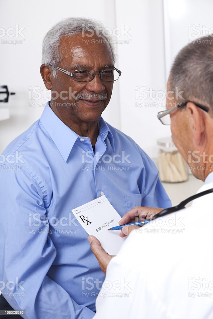 Doctor Prescription royalty-free stock photo