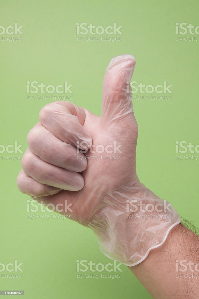 Doctor Showing Thumb Up royalty-free stock photo