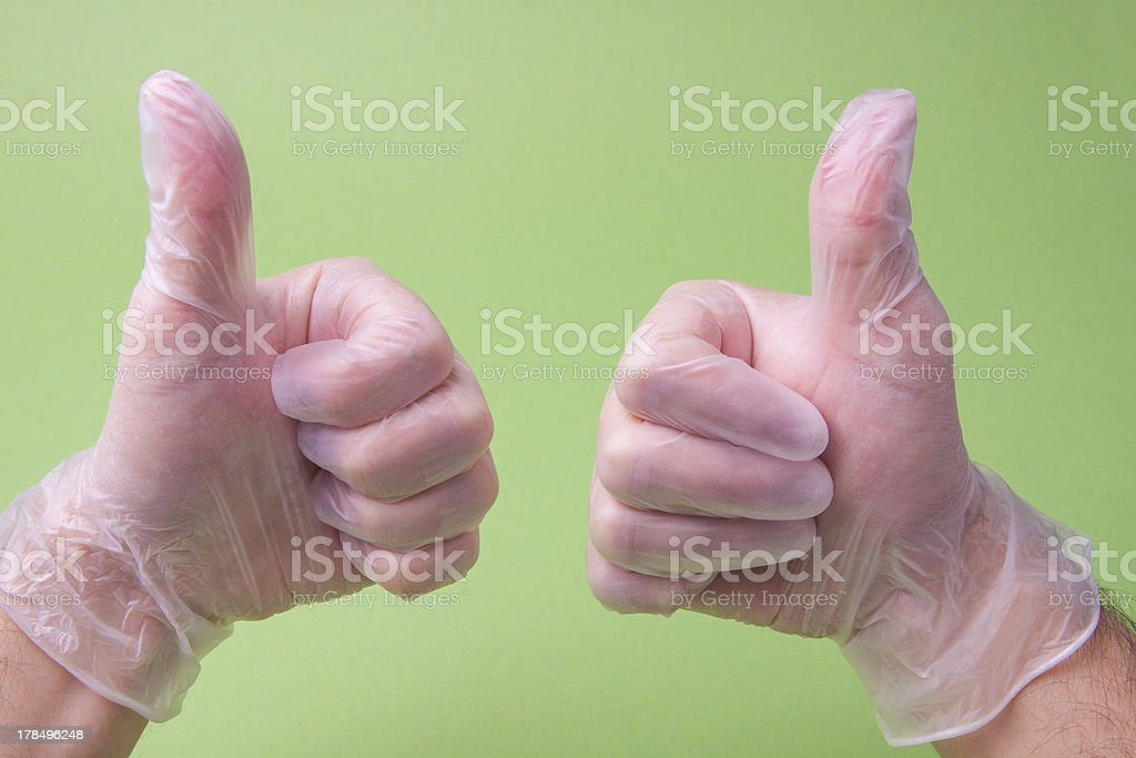 Doctor Showing Thumbs Up royalty-free stock photo