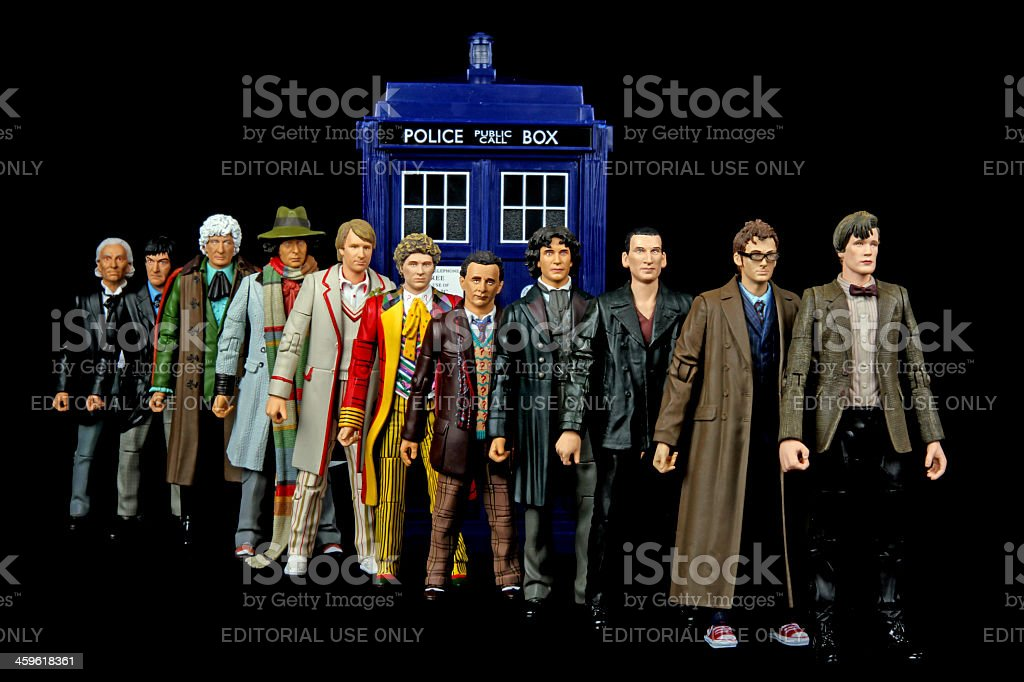 Doctor Who stock photo