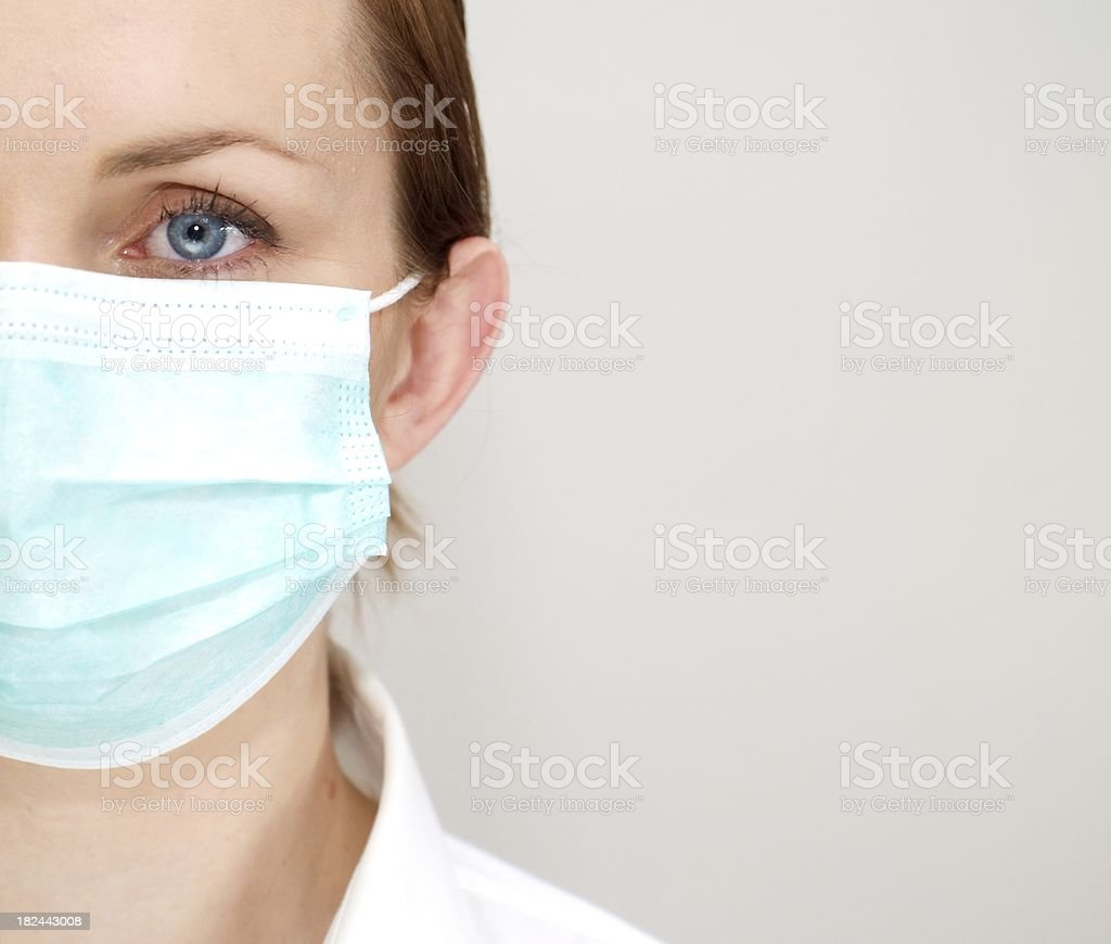 Doctor woman royalty-free stock photo