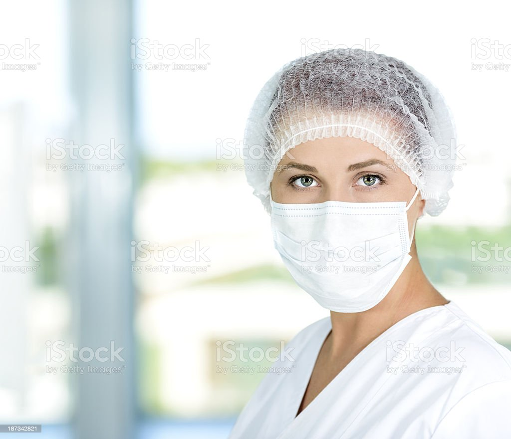 doctor woman portrait royalty-free stock photo