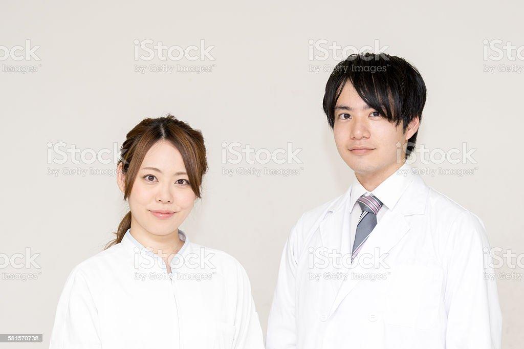 Doctors and nurses (medical image) photo libre de droits