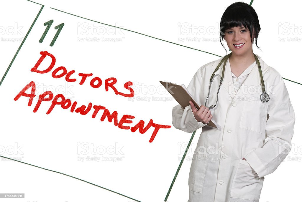 Doctors Appointment stock photo