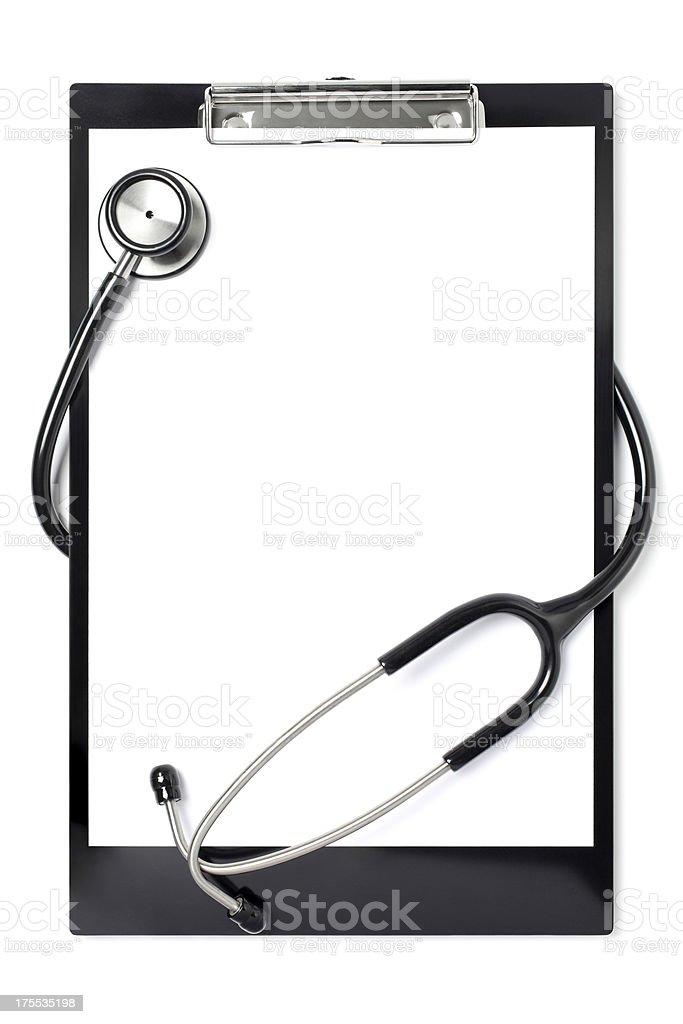 Doctors Clipboard stock photo