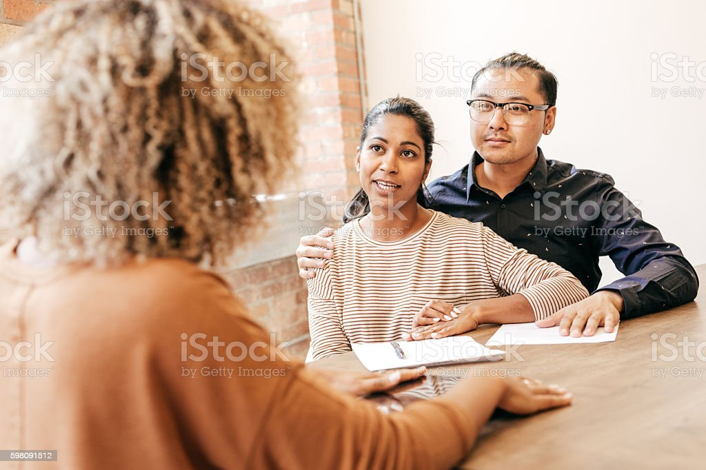 Doctor's consultation stock photo