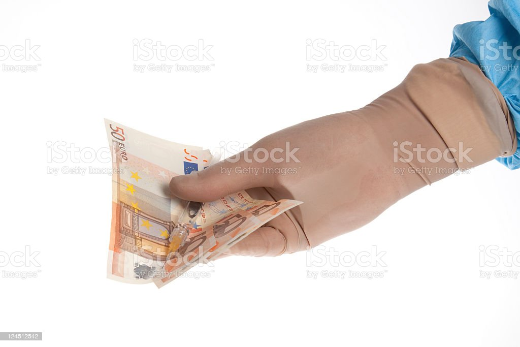 Doctors fee royalty-free stock photo