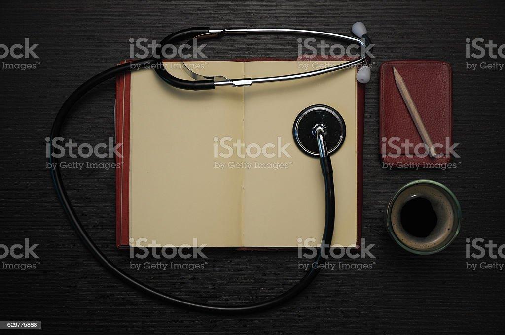 Doctor's kit stock photo