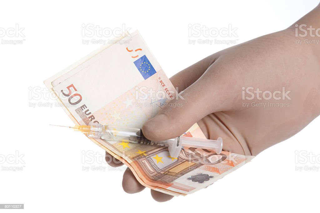 Doctors money royalty-free stock photo