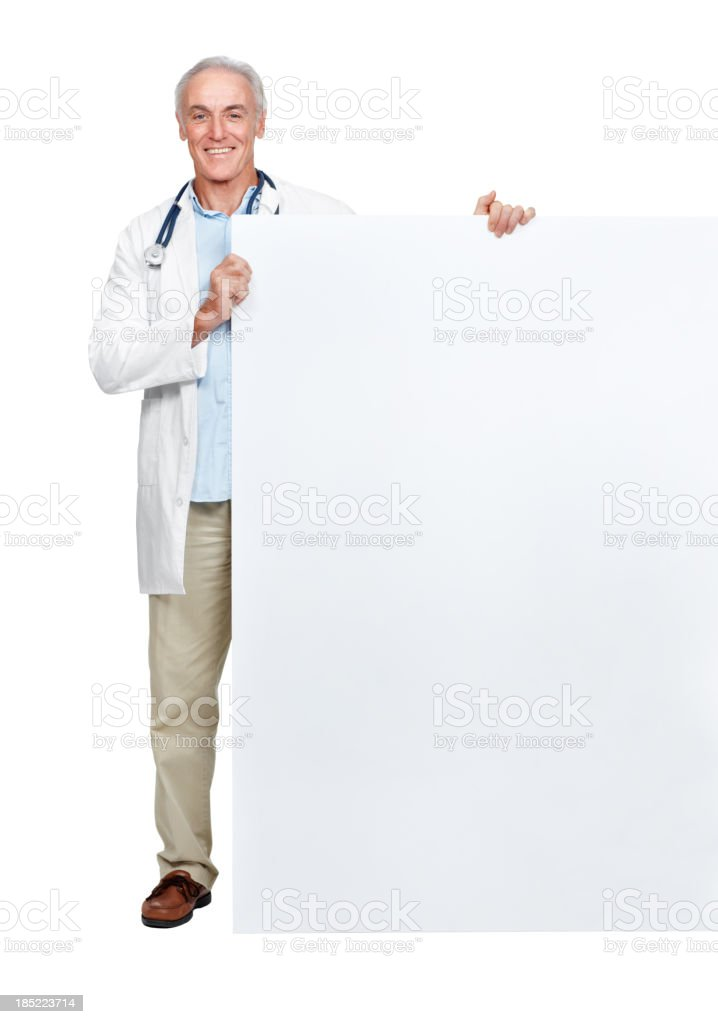 Doctor's orders royalty-free stock photo