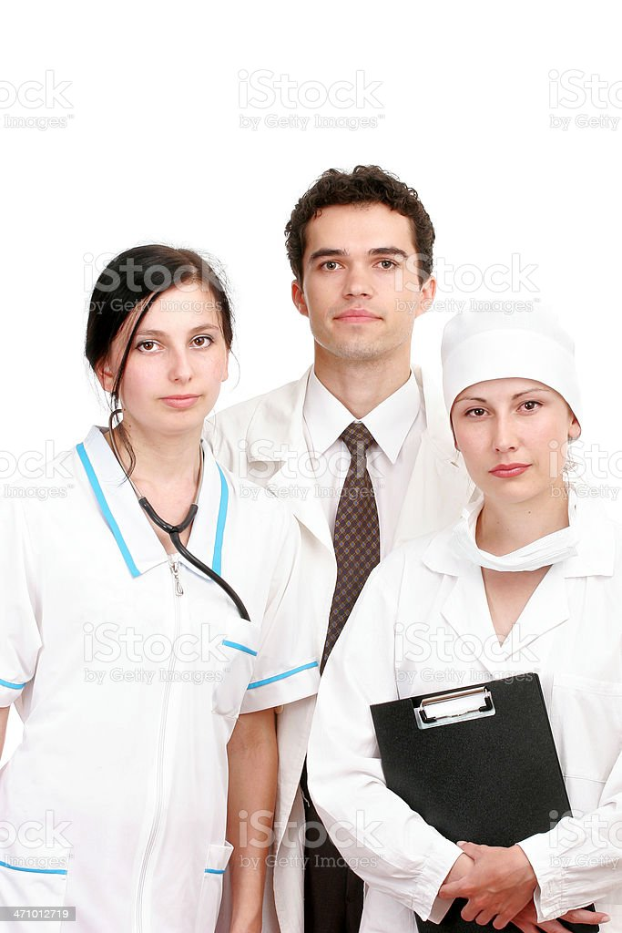 Doctors team royalty-free stock photo