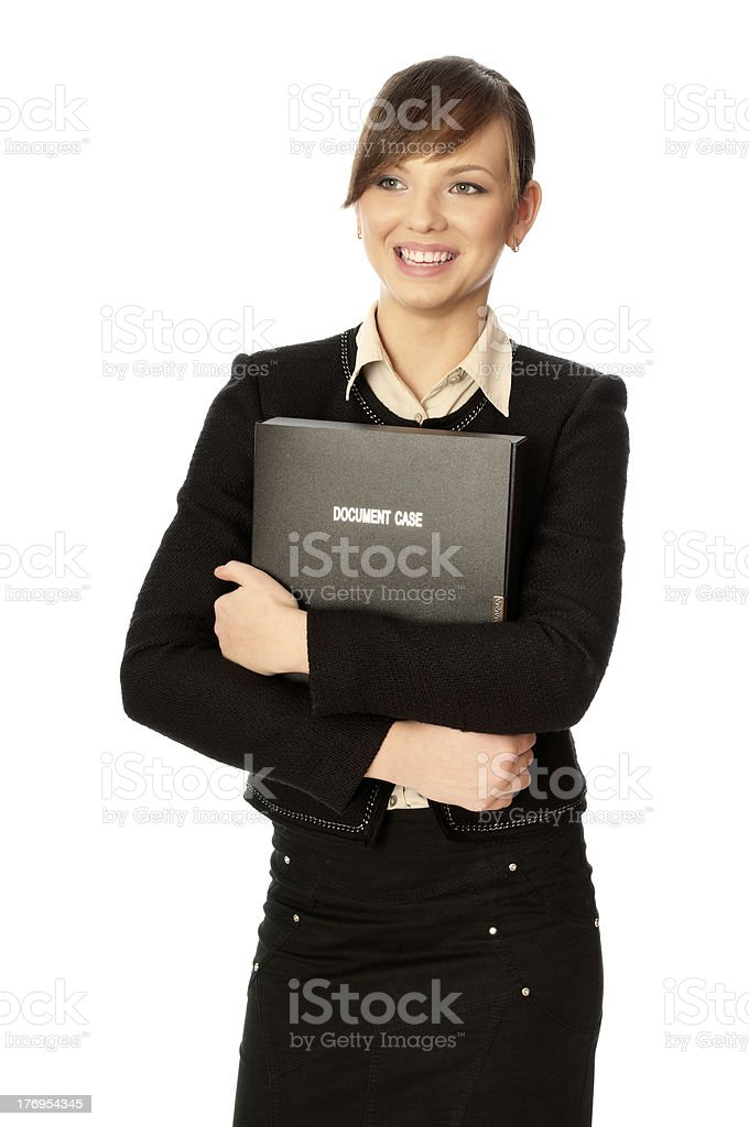 Document case royalty-free stock photo