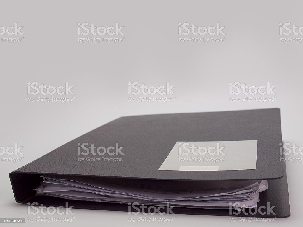 document file stock photo