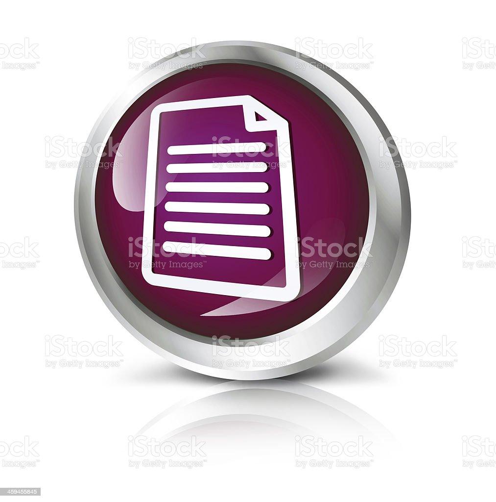 Document icon royalty-free stock photo