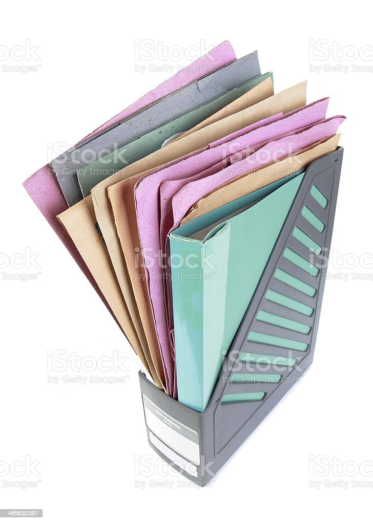 Document paper folder royalty-free stock photo