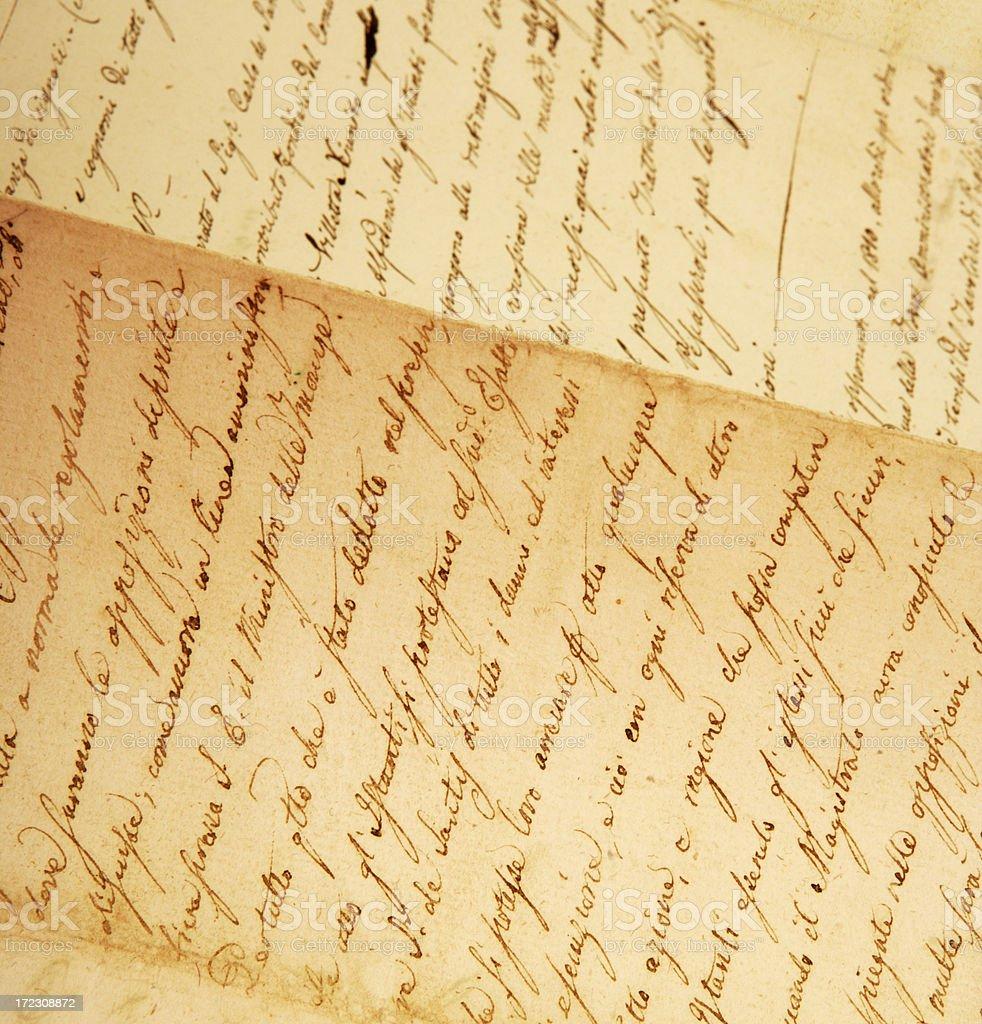 Document royalty-free stock photo