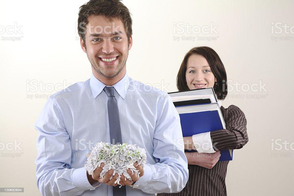 document shredder stock photo